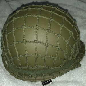 M1 Green Military Metal WWII Helmet Steel With Webbing For Collectable Replica
