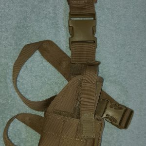 Universal Style Drop Leg Holster (right only) – TAN